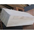 楠角材 520*140*210 ミリの白色材